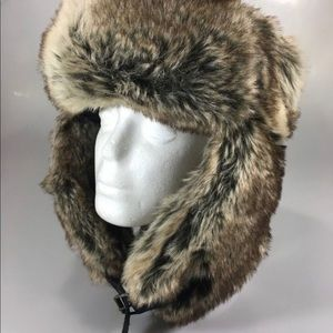 Faux fur unisex hat